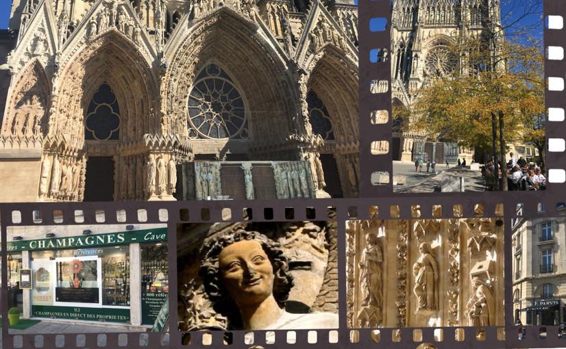 Célébrissime cathédrale de Reims