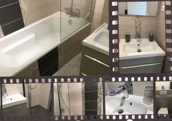 Deux spacieuses salles de bains