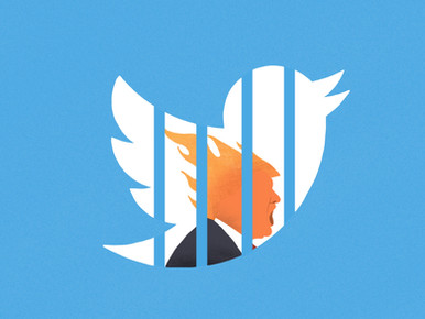 Twitter bans Trump