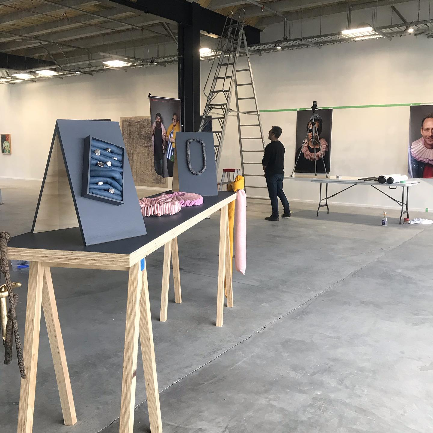 Exhibition Set up