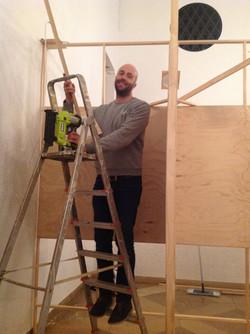 Tim Helping in Munich