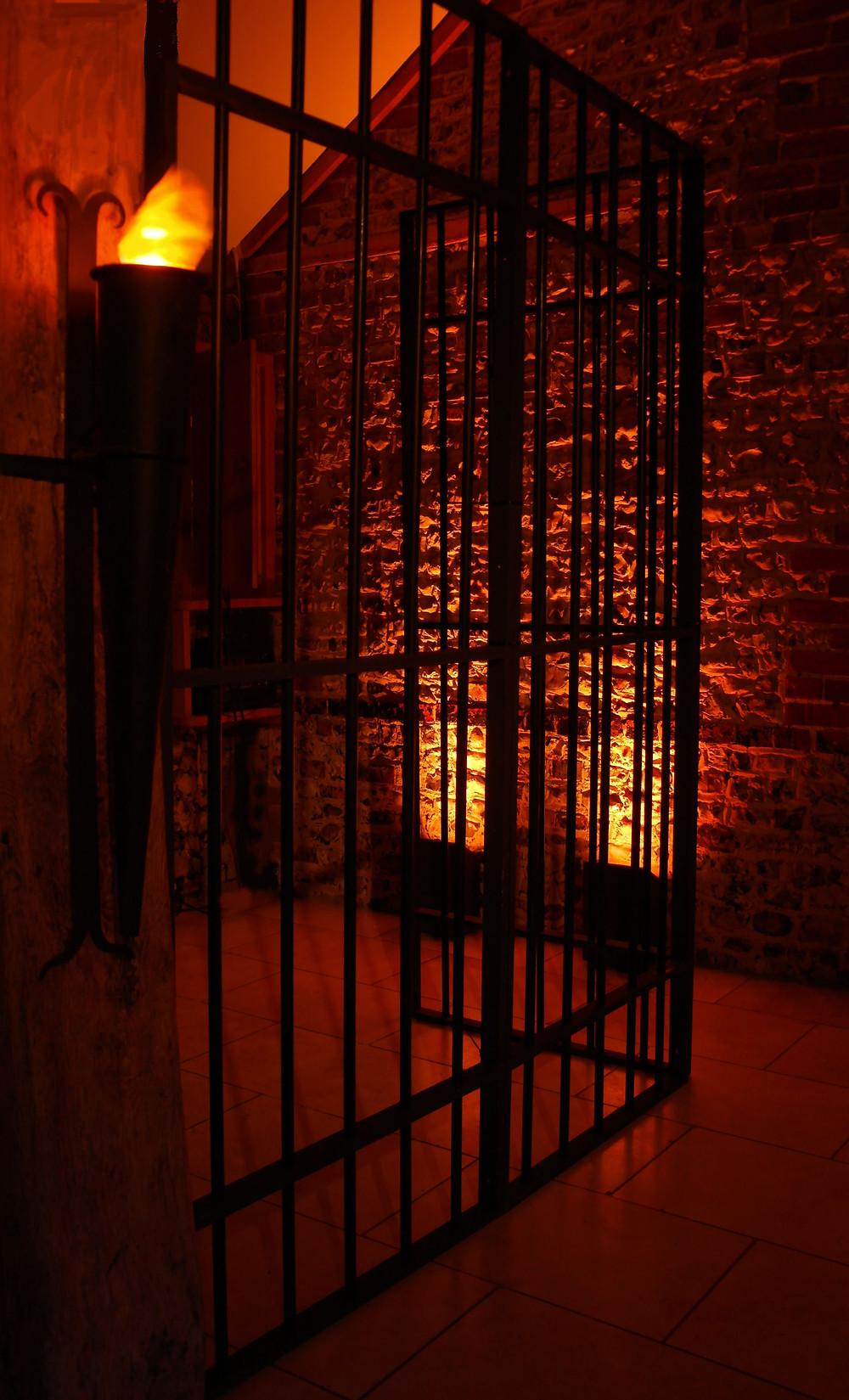 County Jail Wild West set piece
