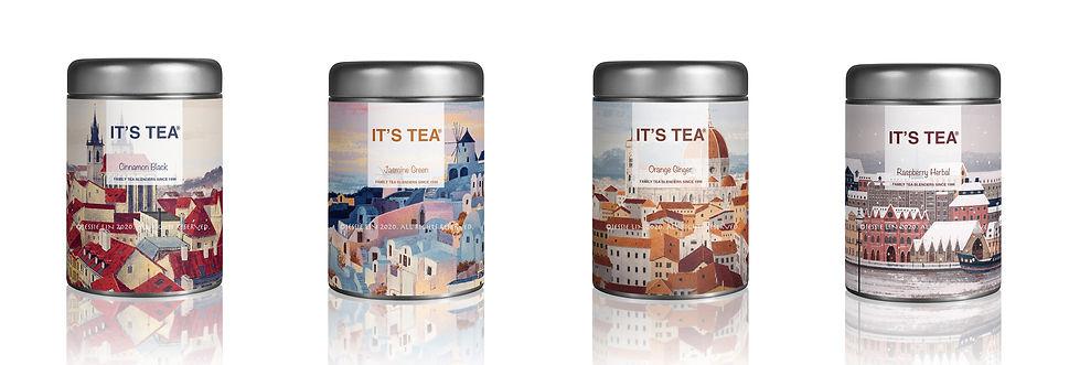 Tea Can Mockup