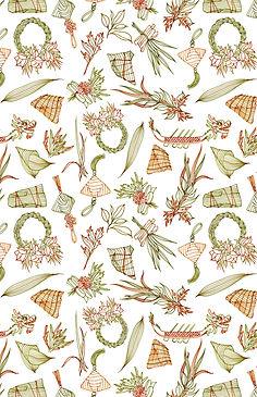 dragon festival pattern