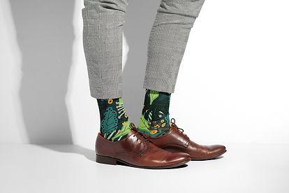 Summer Jungle Socks