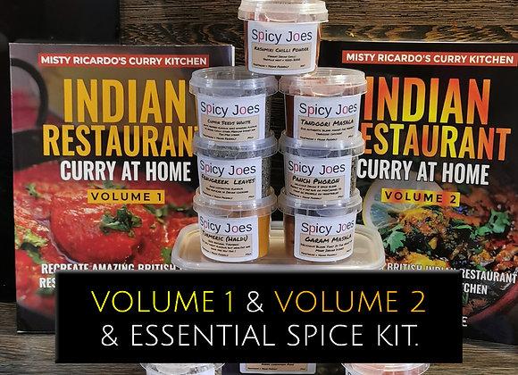MIsty Ricardo's Volume's 1 & 2 with Essential Spice Kit