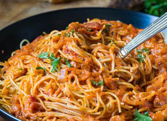 Spicy Tomato Creamy Pasta