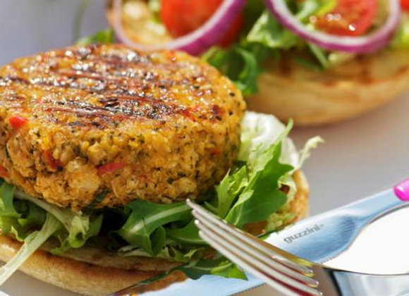 Spicy Joes Chickpea Burger