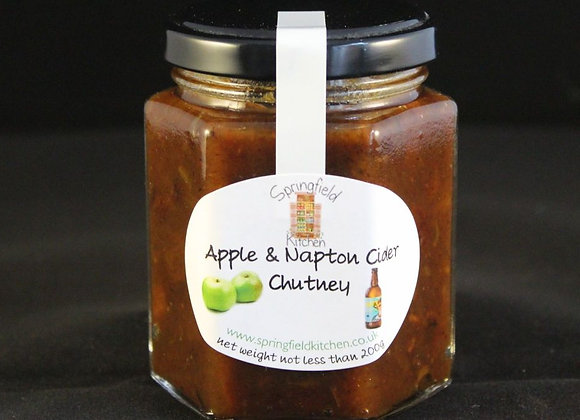 Apple & Napton Cider Chutney