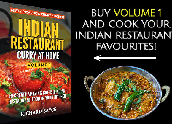 Misty Ricardo's Indian Restaurant Curry At Home Volume 1