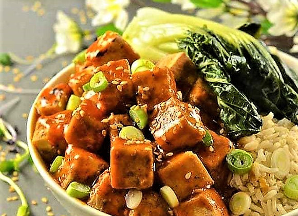 Five Spice Tofu With Chilli Ginger Sauce