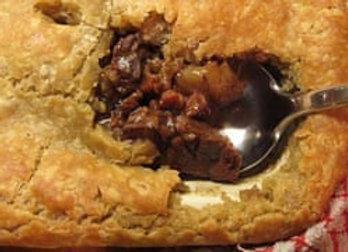 Spicy Joes Steak Pie With Suet Crust