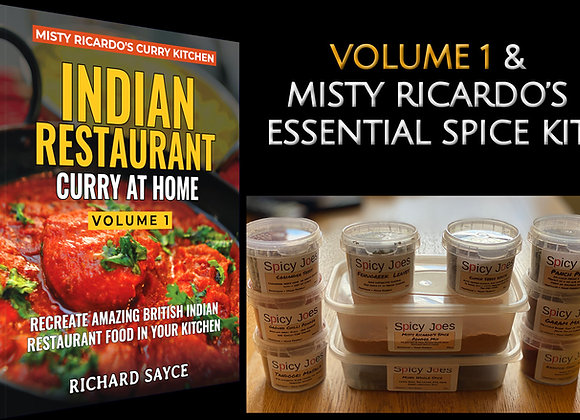 MIsty Ricardo's Volume 1 with Essential Spice Kit