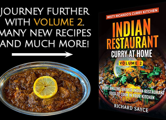 Misty Ricardo's Indian Restaurant Curry At Home Volume 2