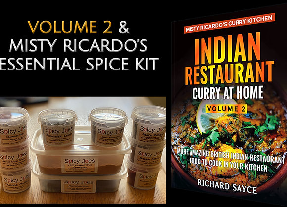 MIsty Ricardo's Volume 2 with Essential Spice Kit