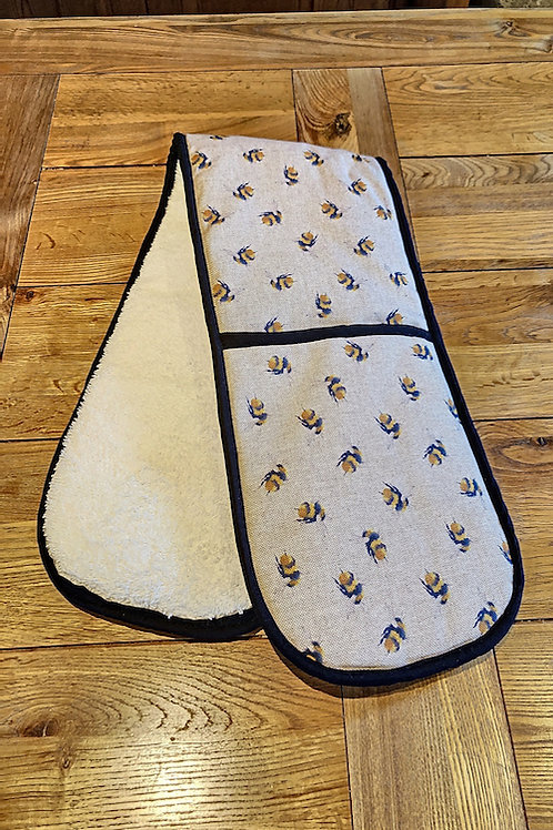 Double oven gloves, Bumblebee, L003.