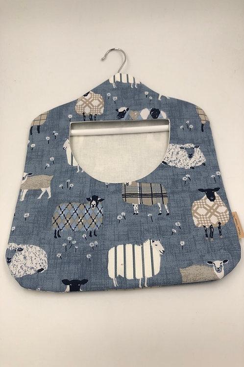 Peg bag, Blue Sheep G066