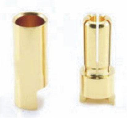 A-021 5.0mm Gold Bullet Banana Connector Plug For ESC Battery Motor
