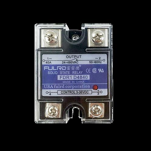 Однофазное твердотельное теле 40А SSR FDR1-D4840