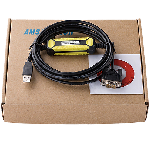 Кабель USB-PPI для программирования ПЛК Siemens S7-200