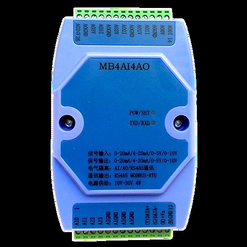 Модуль анологового ввода/вывода MB4AI4AO