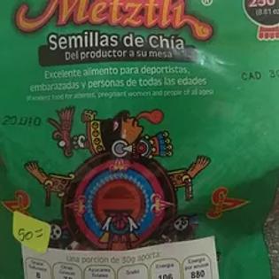 250 gr de Semillas de chia