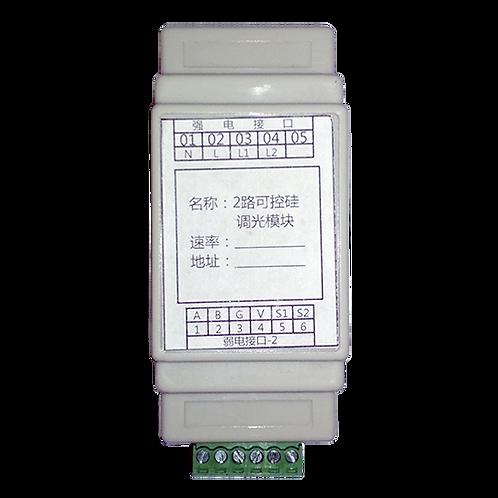 Симисторный регулятор напряжения HD0742 2 канала 1А