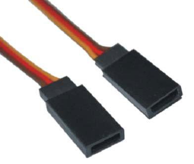 H-005-H-007 JR male battery wire 22AWG L=20CM