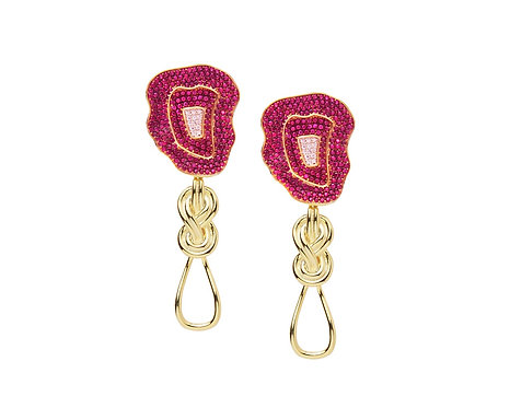 BASKET KNOTTED EARRINGS
