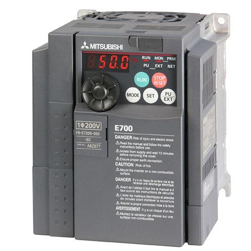 FR-E720S-050SC-EC - однофазный преобразователь частоты