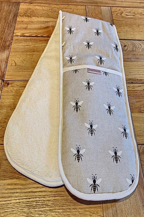 Double Oven Gloves, Honeybees L001