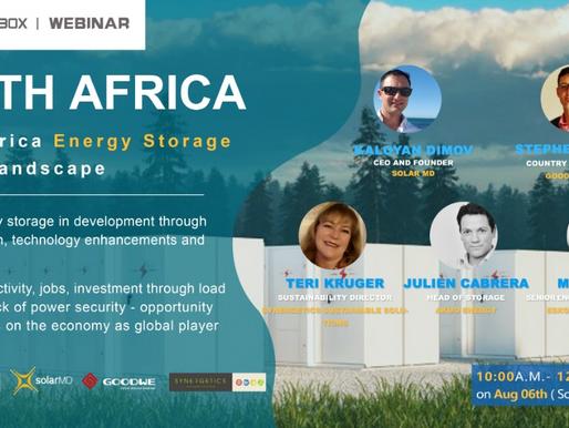 South Africa energy storage market landscape