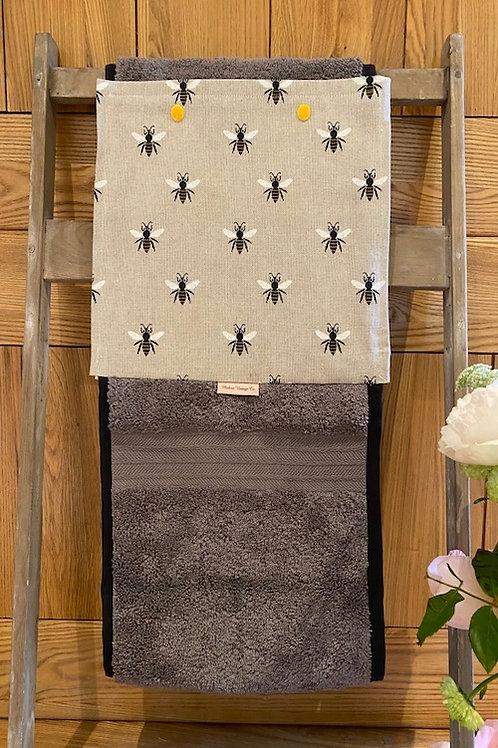 Roller Towel, Honeybees E107