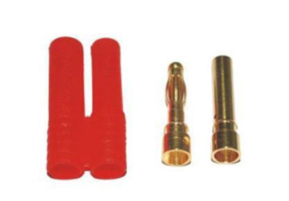 B-007 4MM Gold Bullet Banana Connector Plug For ESC Battery Motor