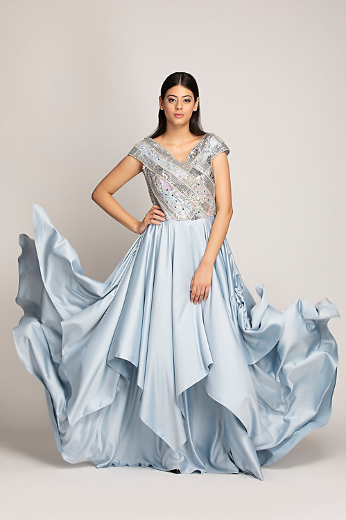 Layered Gown