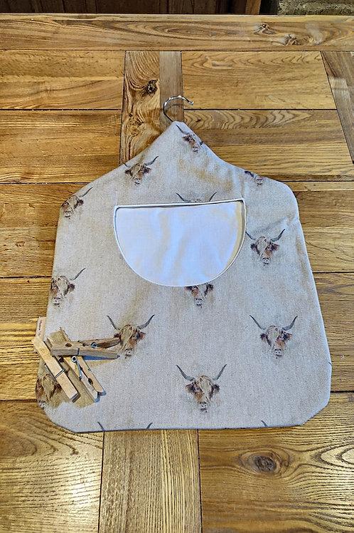 Peg Bags, Highland Cows G056
