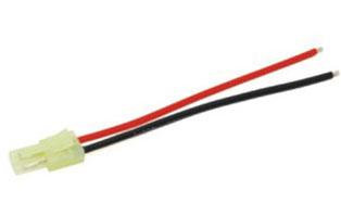 M006 Male micro Tamiya connector with 18awg Silicone wire L=10CM