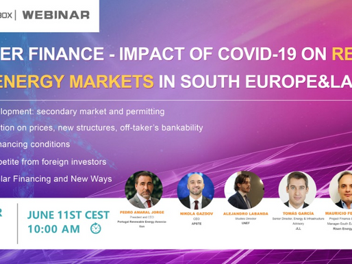 Impact of Covid-19 on Renewable energy market in south europe & Latam