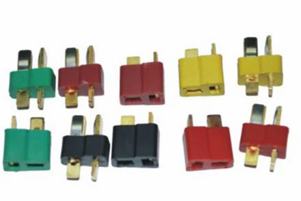 B014 1 Pair Fireproof T Plug Connector For RC ESC Battery