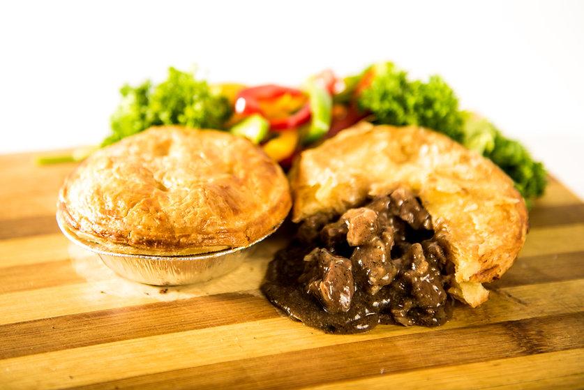 Mighty Meal Pepper Steak Pie_Brown board