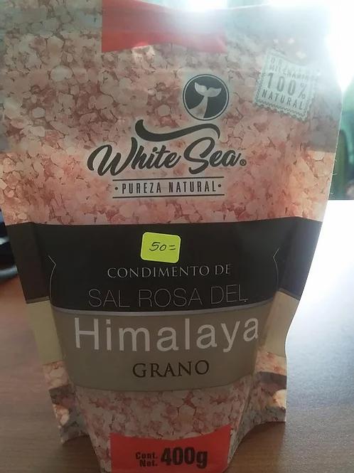 400 gr de Sal rosa del himalaya en grano