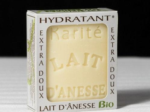 Savon bio au lait d'ânesse au beurre de karité