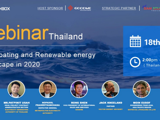Thai floating and renewable energy Landscape in 2020