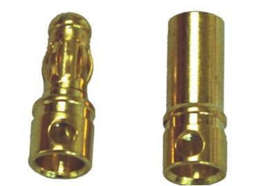 A-007 3.5mm Gold Bullet Banana Connector Plug For ESC Battery Motor