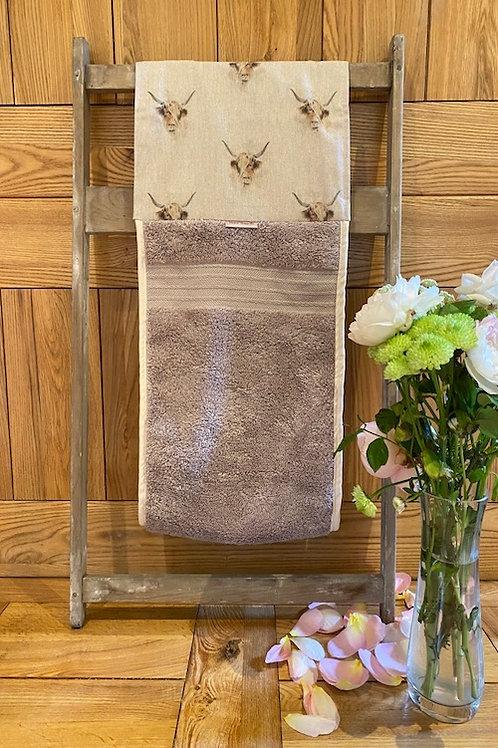 Roller Towel, Highland Cows E109