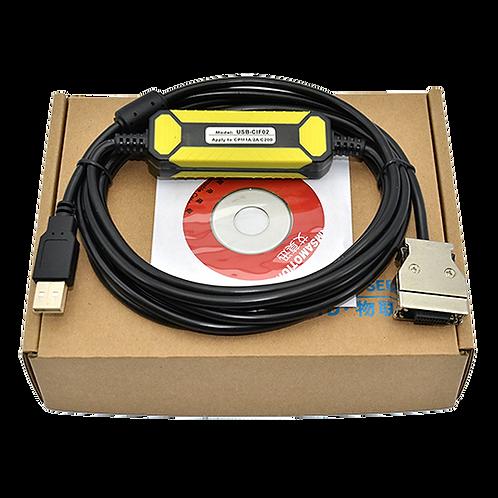 Кабель USB-CIF02 для программирования ПЛК Omron CPM1A/2A, C200HE/HG/HX