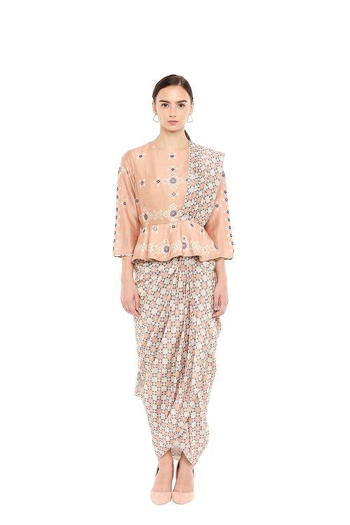Draped Sari