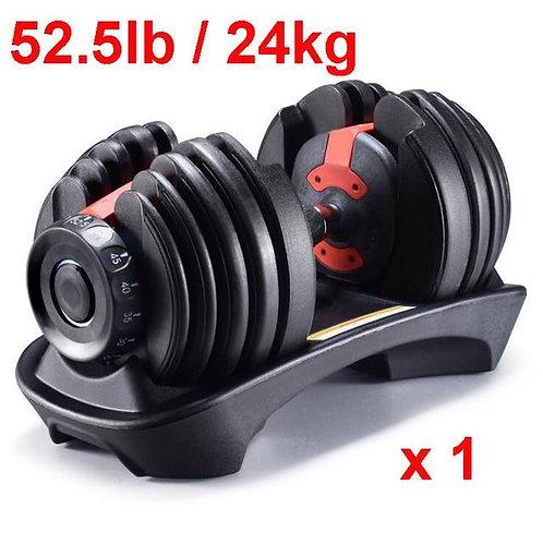 Adjustable Dumbbell Set 52.5lb/24kg to 90lb/40kg (For All Fitness Levels)