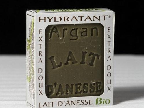 Savon bio au lait d'ânesse à l'huile d'argan