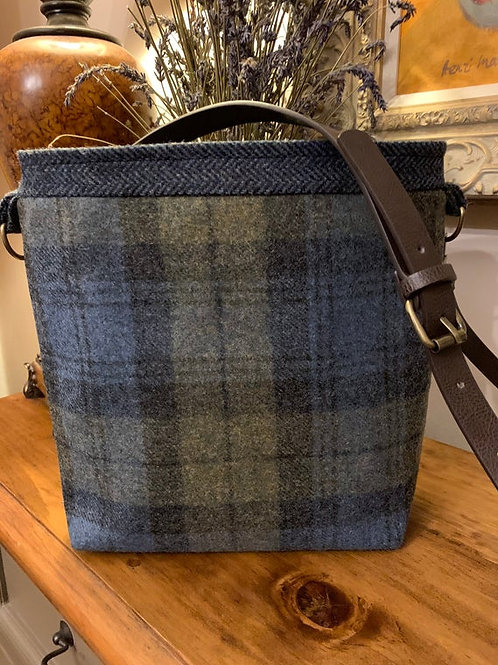Over the shoulder Check Bag
